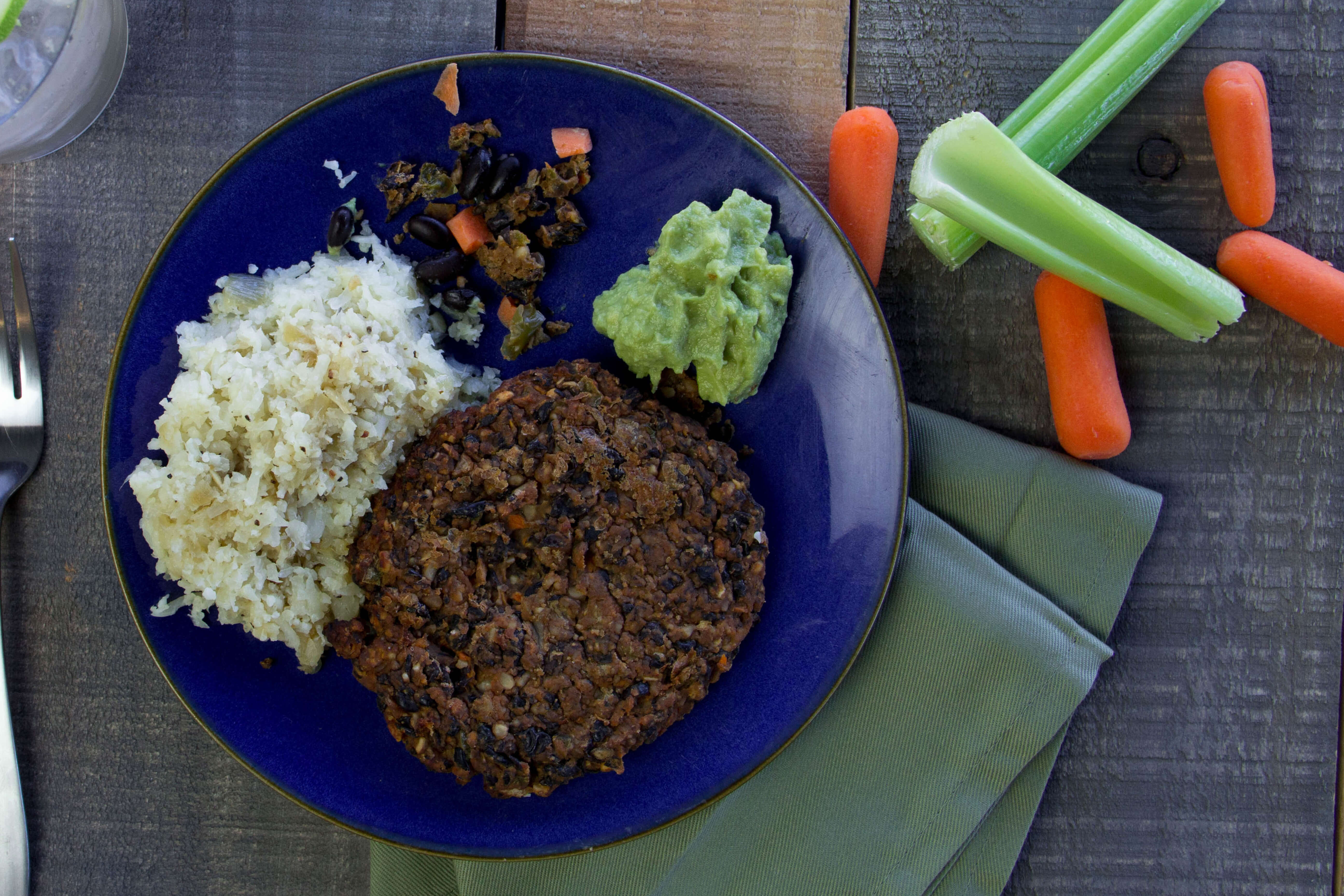 Sriracha Black Bean Burger